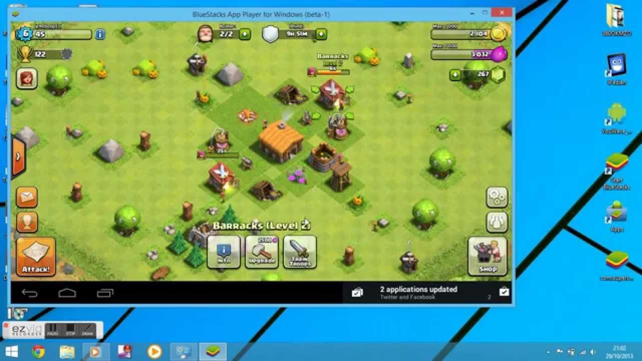 Clash of clans на компьютер скачать и установить игру клэш оф.