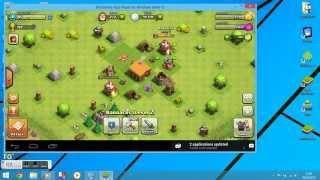 clash of clans on laptop windows 8