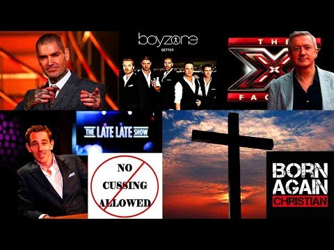 ANOTHER JESUS- SHANE LYNCH- BOYZONE- THE LATE LATE SHOW- BORN AGAIN CHRISTIAN