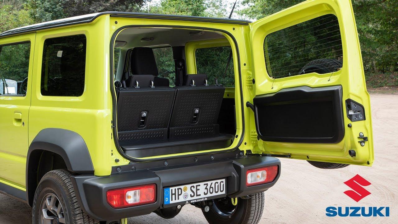 2019 Suzuki Jimny Interior Youtube
