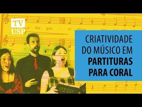 Criatividade do músico tem lugar em partituras para coral