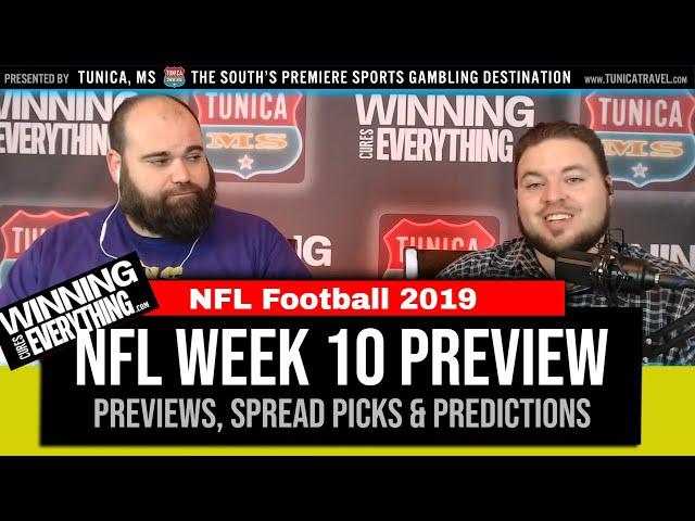 WCE: NFL Week 10 Preview & Big Game Spread Picks