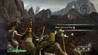 Welcome to my LOTR Conquest Let's Play. This is the Tutorial Level ...