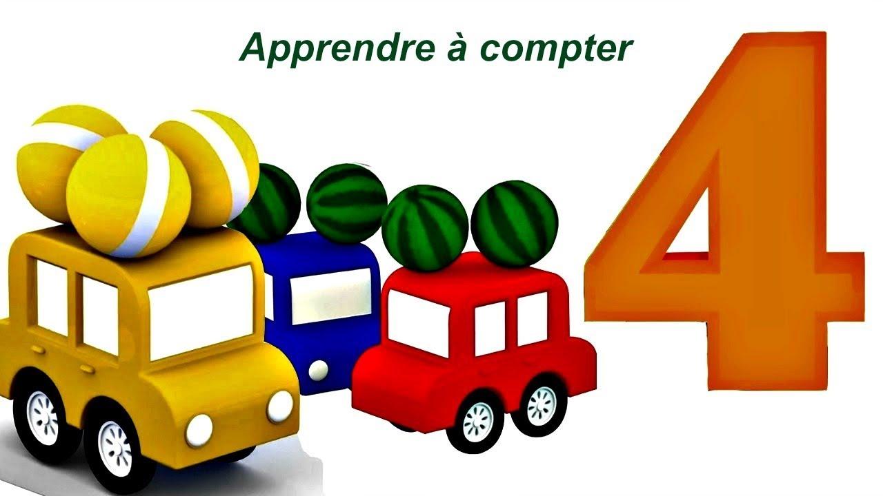 Bien-aimé Compilation № 4 avec4 voitures pour apprendre les couleurs - YouTube UC34