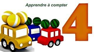 Compilation № 4 - 4 voitures pour apprendre les couleurs streaming
