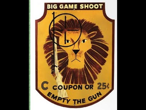 Youtube Big Game Safari Shooting Gallery
