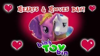 Shining Armor & Princess Cadance's Hearts & Hooves Day MiWorld Date! Parody Skit by Bin's Toy Bin