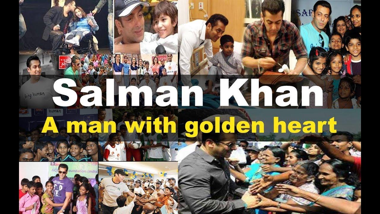 A Man with Golden Heart l Salman Khan l Being Human