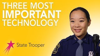 Technology I Use | State Trooper Stephanie Chang | Career Girls Role Model