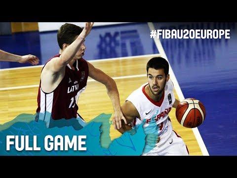 Spain v Latvia - Full Game - Round of 16 - FIBA U20 European Championship 2017
