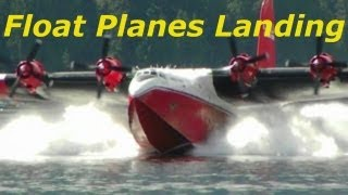 Float Plane Landing Compilation
