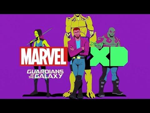 Marvel's Guardians of the Galaxy | Golden Wolf | Sketchbook | Disney XD