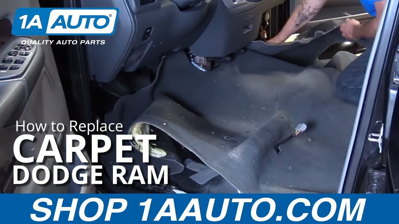How To Install Replace Carpet Quad Cab 2003 08 Dodge Ram