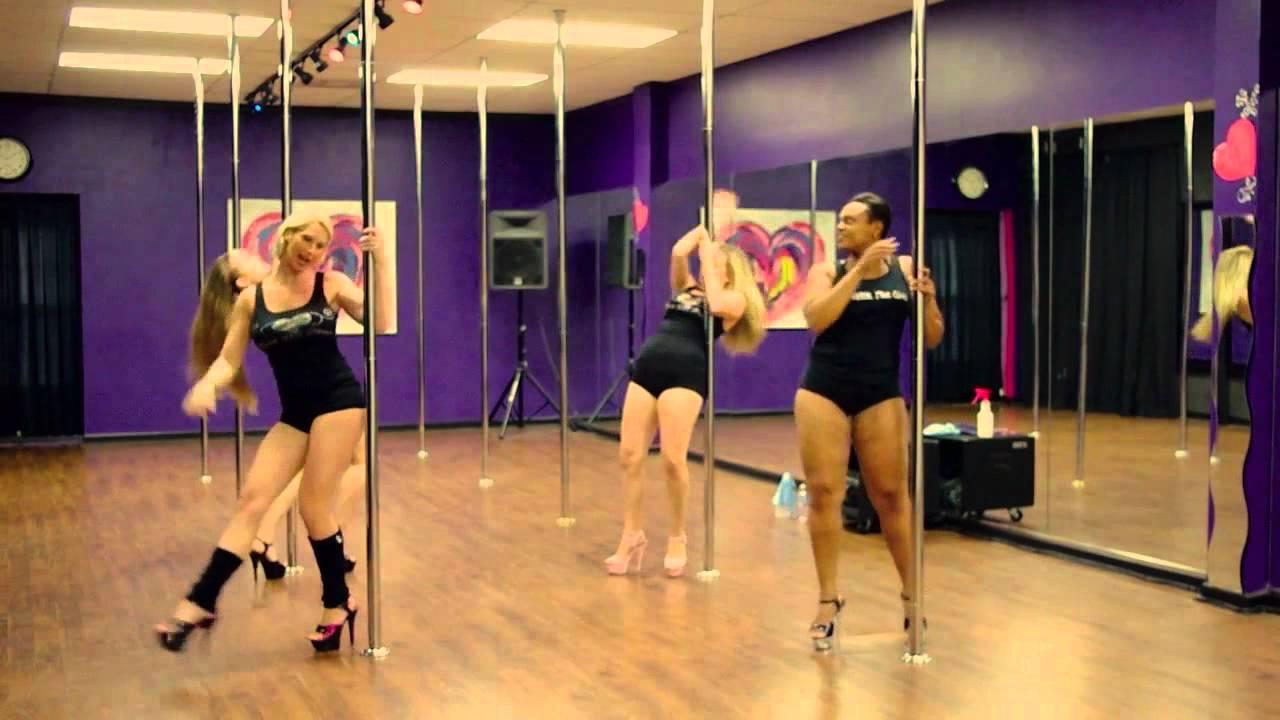 Diva Doll Fitness Beginner Pole Dance Routine - YouTube