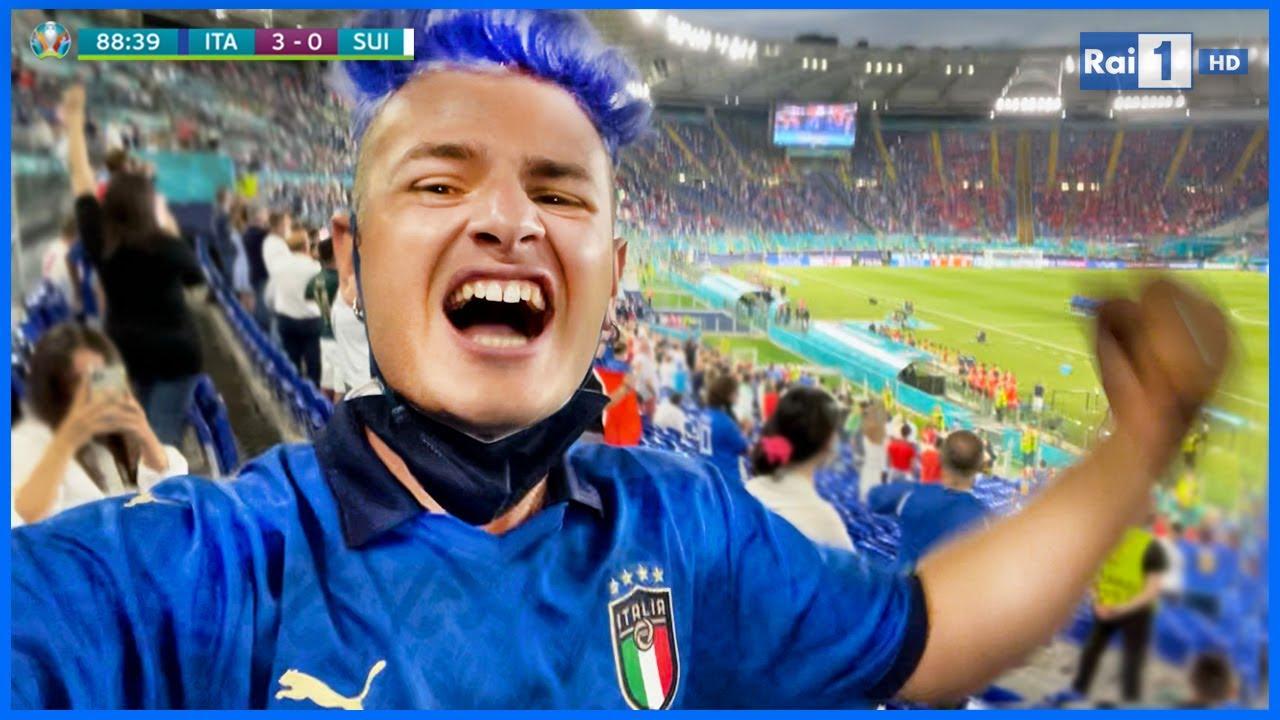 🇮🇹 INVITATO allo STADIO per EURO2020 con l'ITALIA! (la mia prima volta!)