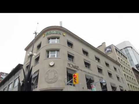 Downtown Ottawa 240 Sparks Street Mall / C.D. Howe Building