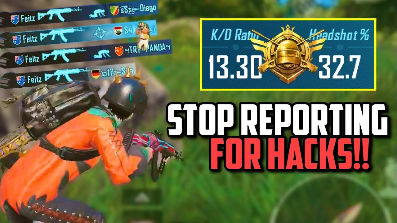THE MOST REPORTED M762 PLAYER IN PUBG MOBILE FOR CHEATING!!