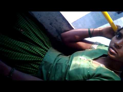 Girl in bus lenga blawse thumbnail
