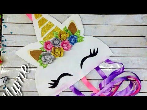 Portamo os de unicornio hairbow holder hairbowclips - Manualidades para adultos ...