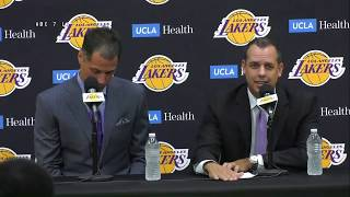Lakers introduce new head coach Frank Vogel | ABC7