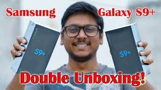 Samsung Galaxy S9 Plus Double Unboxing and Initial Review!!