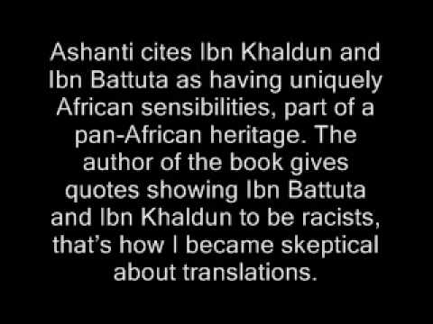 Ibn Khaldun Badly mistranslated Arabic sources. How I first came to that conclusion