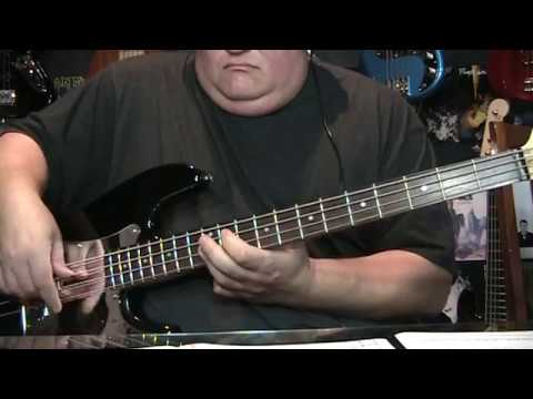 Steely Dan Reelin' In The Years Bass Cover with Notes & Tab