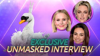 The Swan's First Interview Without The Mask! | Season 3 Ep. 8 | THE MASKED SINGER