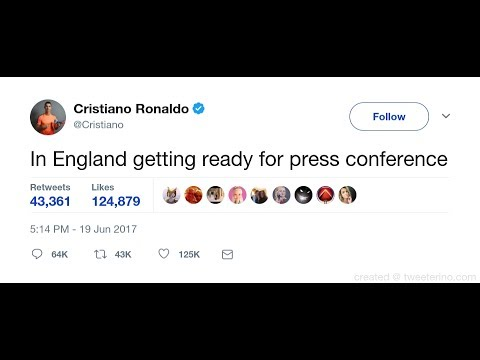Secret deleted tweet: Cristiano Ronaldo is coming back to Manchester United *proof*