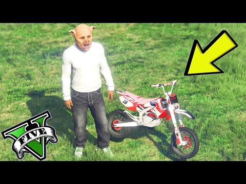 GTA 5 MOD PIT BIKE 🐷 MINI MOTOCROSS CHALLENGE !!!🐷 GTA 5 ITA 🐷 DAJEE !!!!