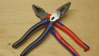Klein Vs Knipex Combination Pliers
