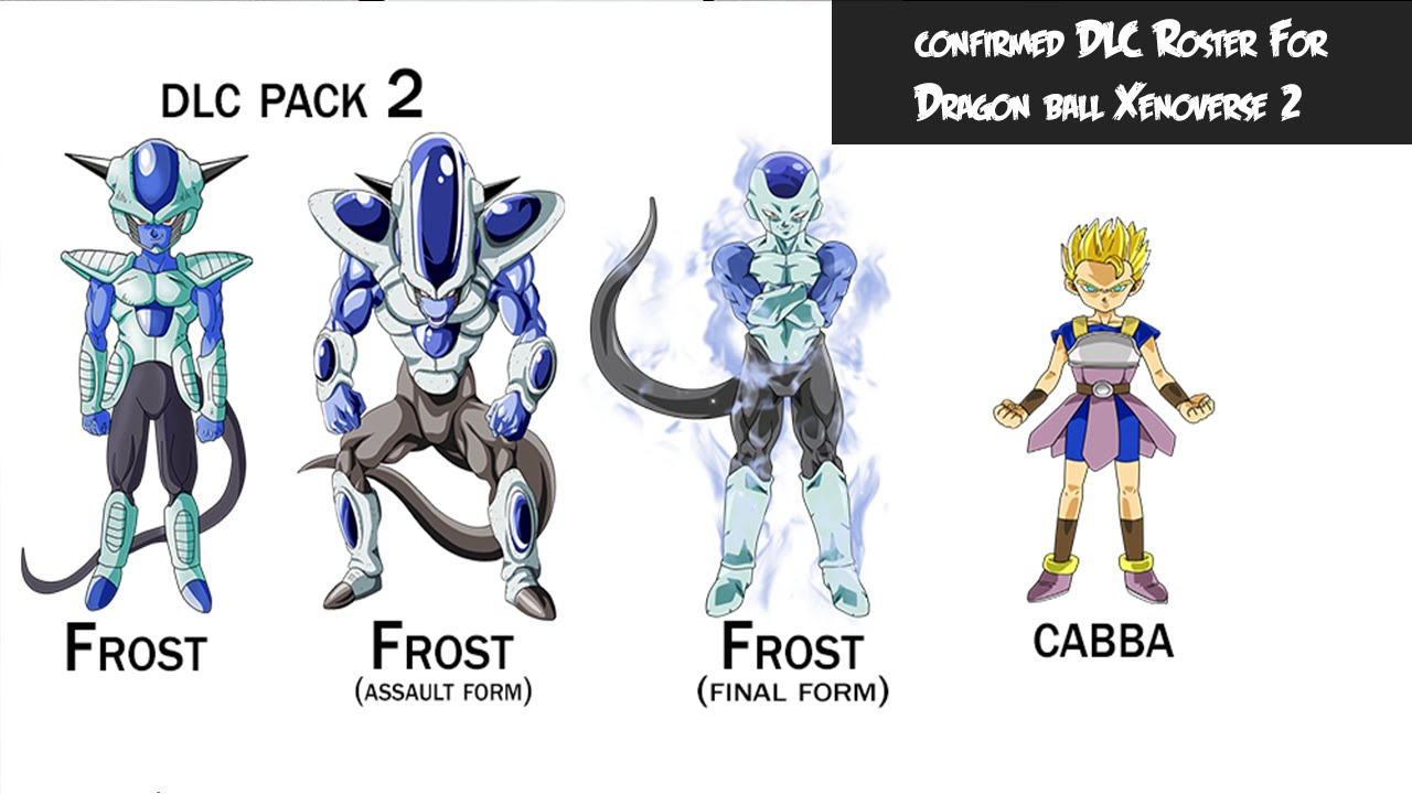 Dragon Ball Xenoverse 2 Dlc Roster No Movie Characters For Dlc In Xenoverse 2