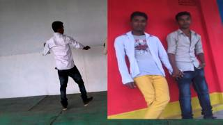 Amar Bondhua Bihone Go....Dance By Al-amin