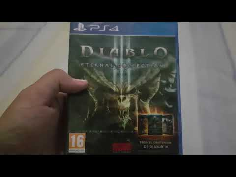 Unboxing Ps4 Diablo 3 Eternal Collection español