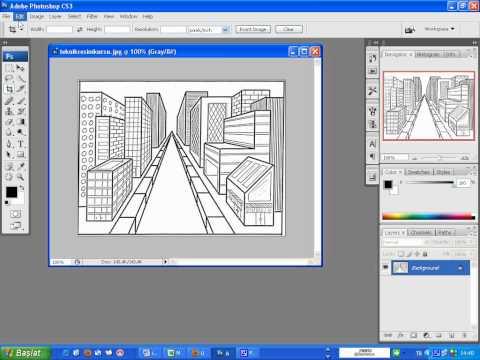 Grafikerlik kursu Photoshop ta Crop aracının kullanımı