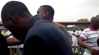 Ayo Gold at Novelty football match between Nigerian celebrities and top police ofLastma , VIO and r