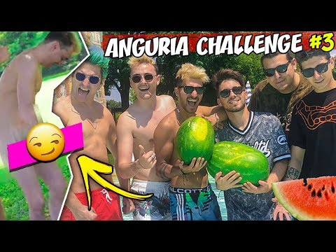 ANGURIA CHALLENGE #3  🍉 *PENITENZA SURRY NUD0* - Matt & Bise ft. MATES