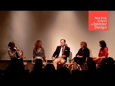The Evolution of Interior Design: Alumni Panel Discussion