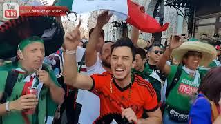 Mexicanos provocan a la barra argentina en Moscú y sucede esto...