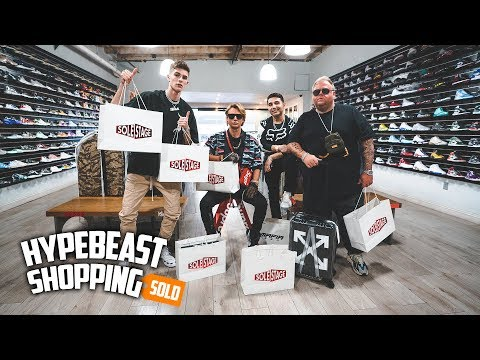 Billionaire Spends $20,000 Dollars Hypebeast Shopping!