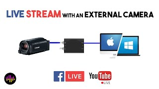 Live Streaming with the AJA U-Tap, PC or MAC, Facebook or Youtube
