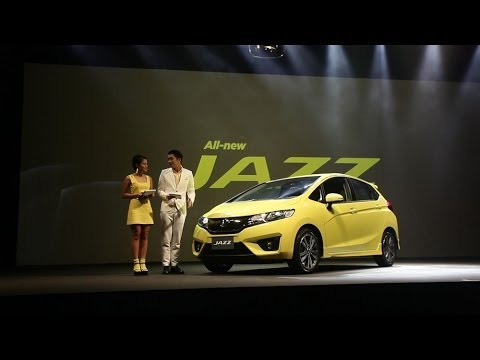 All New Honda Jazz 2014 Thailand launch : เปิดตัว ฮอนด้า แจ๊ส ใหม่ เจนฯ3