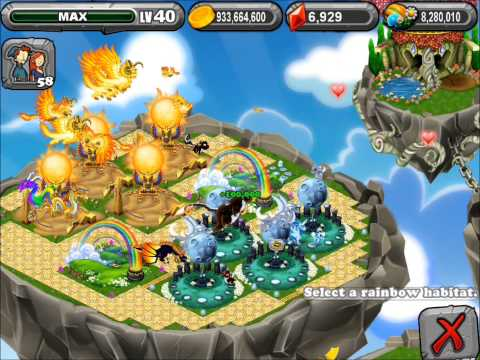 DragonVale How To Breed Leap Year Dragon + Max Level [HD]