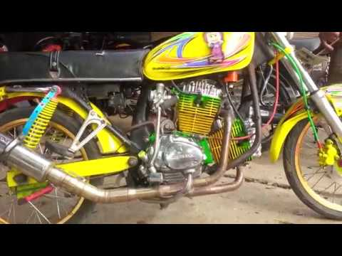 Toko Baja Ringan Bandar Lampung Kota Armoni Racing With Cb 2 Slinder Dkomplong Retro Wa