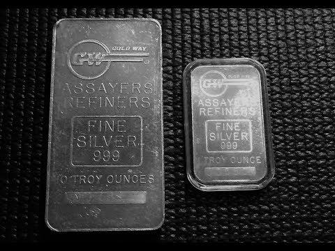 Silver Unboxing: Monarch Precious Metals Random 10oz Silver Bar