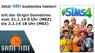 Sims 4 kostenlos! - Origin Gametime bis 2.2.15