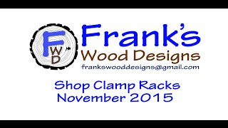 Shop Clamp Racks 151127