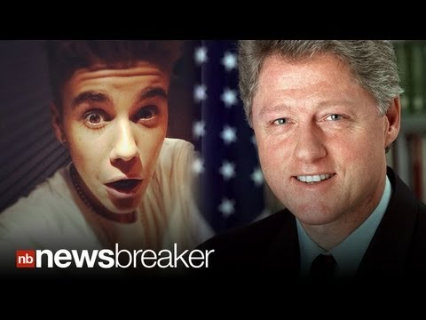 "THE BIEBER INITIATIVE: Pres. Clinton Calls Justin Bieber After Bieber Says ""Fu** Clinton"""
