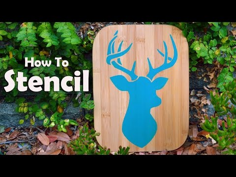Stenciling 101: How To Paint With A Stencil