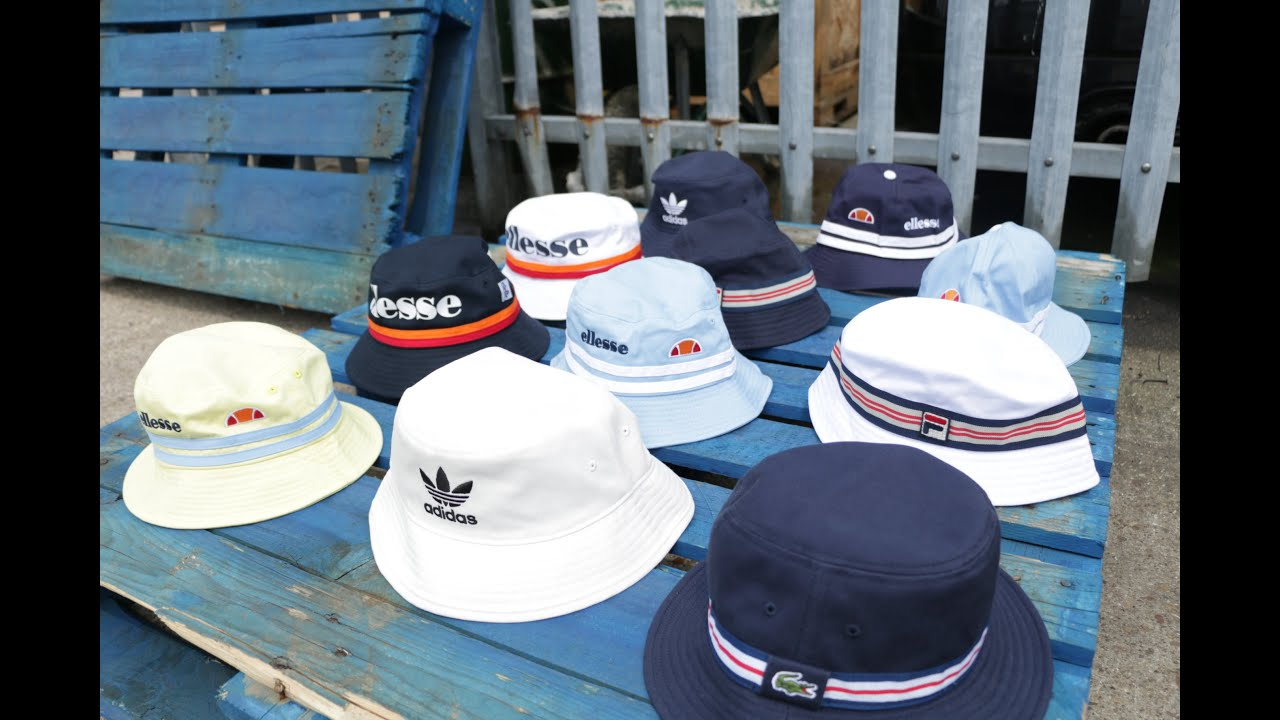 Bucket Hats 2016 Ready For The Stone Roses Fila